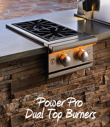 Power Pro Dual Top Burners